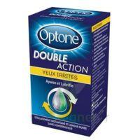 OPTONE DOUBLE ACTION Solution oculaire yeux irrités Fl/10ml promo à Saint-Maximim
