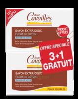 Rogé Cavaillès Savon Surgras Extra doux Fleur de coton 3x250g + 1 offert à Saint-Maximim