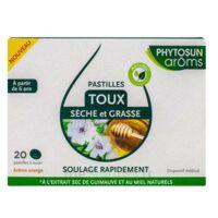 Phytosun Aroms Pastilles Toux B/20 à Saint-Maximim