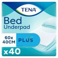 Tena Bed Plus Alèze Intraversable Usage Unique 40x60cm Sachet/40 à Saint-Maximim