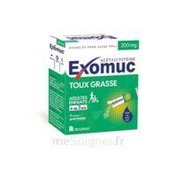 EXOMUC 200 mg, granulés pour usage oral en sachet 15 Sachets/2g à Saint-Maximim