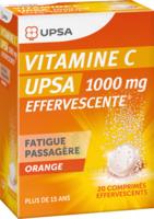 VITAMINE C UPSA EFFERVESCENTE 1000 mg, comprimé effervescent