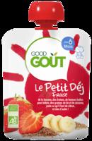 Good Goût Petit Déj Fraise Gourde/70g à Saint-Maximim