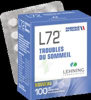 Lehning L72 Comprimés orodispersibles Plq PVC/PVDC/Alu/100 à Saint-Maximim